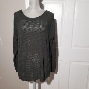 HEARTLOOM open knit sweater